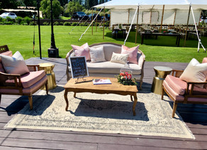 I Love When Couples... Add a Lounge Setting To Their Reception