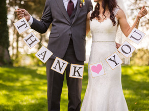 Benefits of Giving A Thank You Toast at Your Wedding Reception