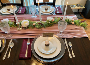How to Set a Beautiful Table