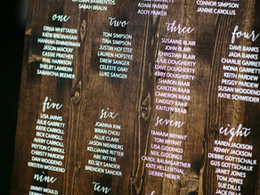 Wedding Seating Chart Pros and Cons