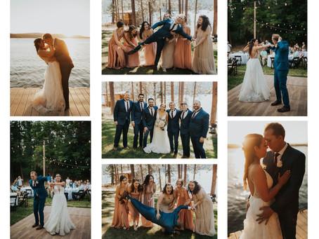 June Wedding at Zephyr Lodge in Liberty Lake, Washington