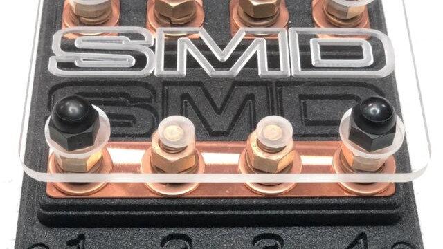SMD Quad Copper Fuse Block