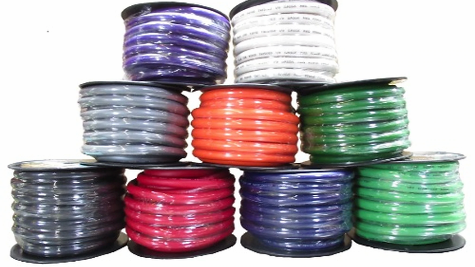 Sky High Car Audio OFC 1/0 Gauge 50ft Spool