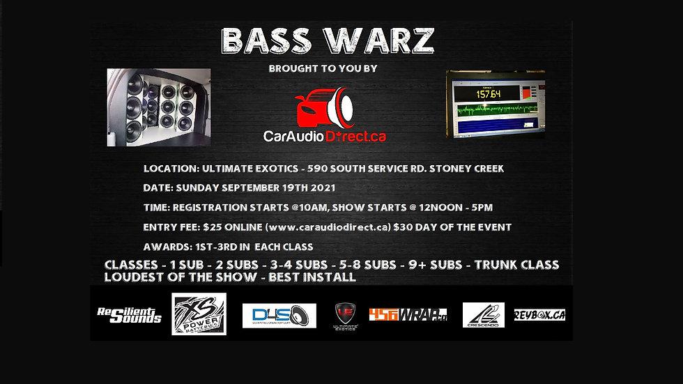 Bass Warz Registration