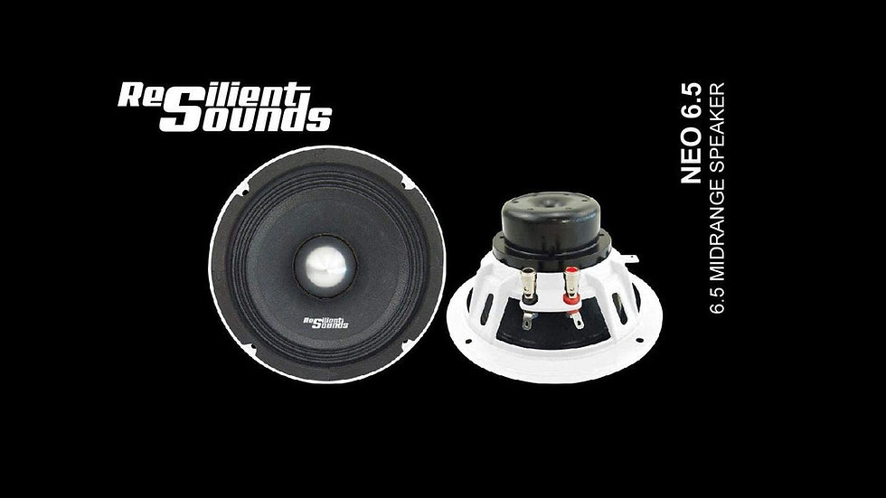 "Resilient Sounds NEO 6.5"" (Sold Individually)"