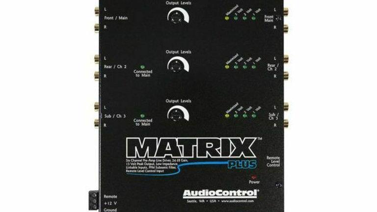 Audio Control Matrix Plus