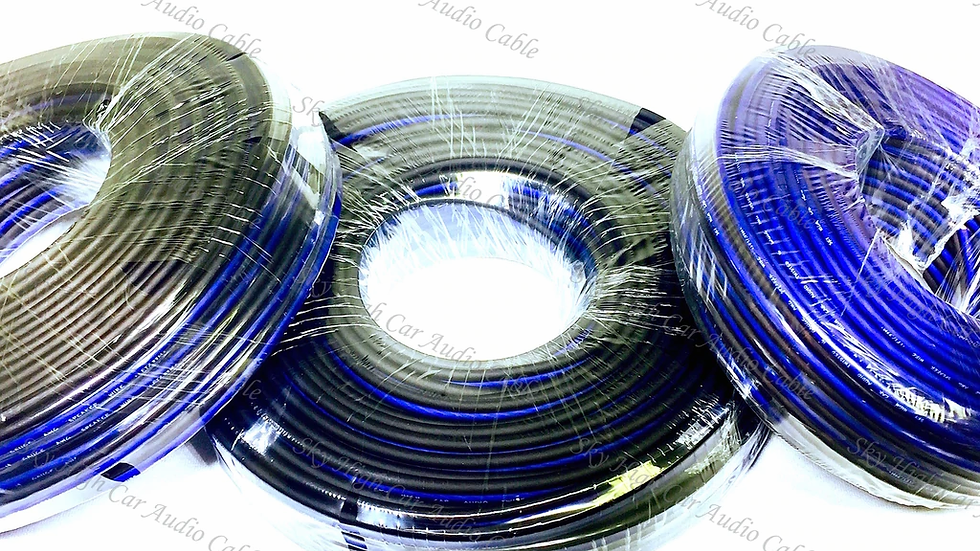 Sky High Car Audio CCA 12 Gauge Speaker Wire 300ft