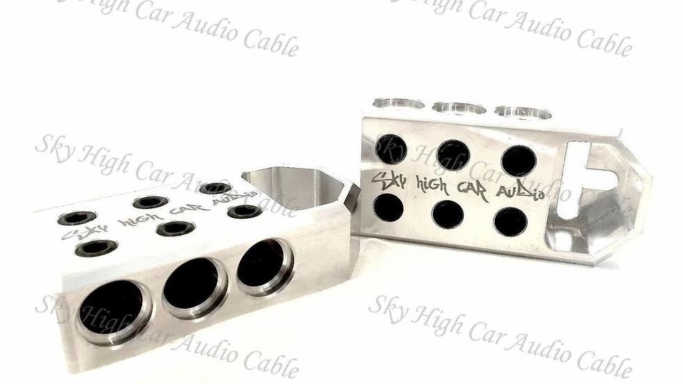 Sky High Car Audio 6 - 1/0 or 4 Gauge Battery Terminals