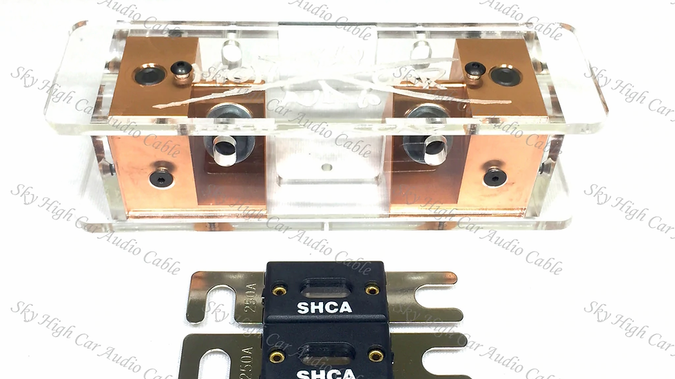 Sky High Car Audio Copper 2/0 XL ANL Fuse Holder - Set Screw