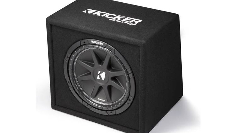 """Kicker 43VC124 Ported enclosure with 12"""" Comp subwoofer"""