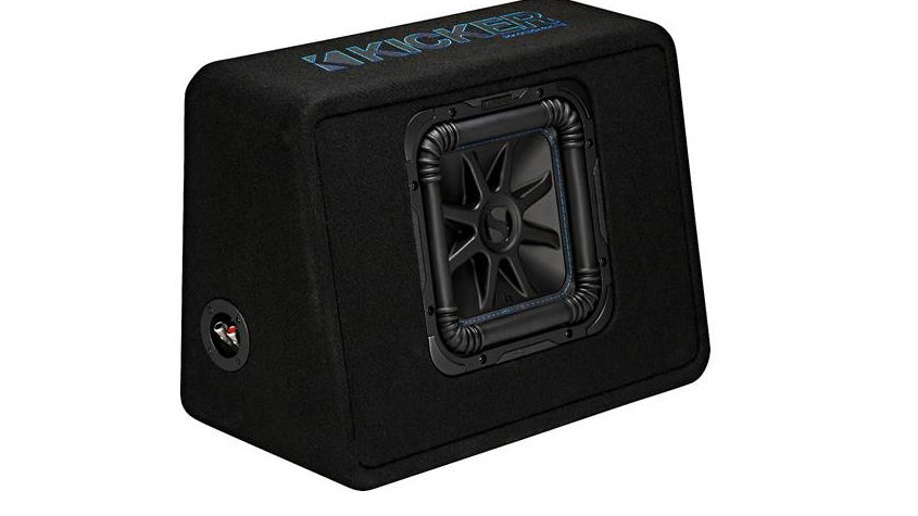 Kicker 44TL7S102 Ported enclosure with one Solo-Baric L7S