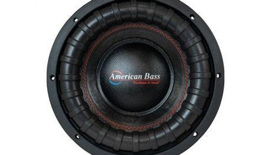 "American Bass XFL-10"""