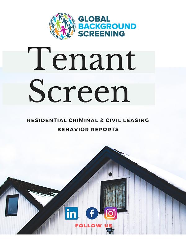 Tenant Screening Packages & Pricing