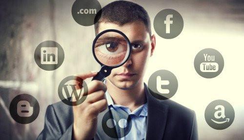background social media