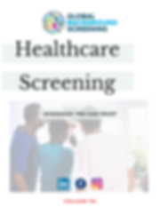 Healthcare Backgro Screening for Employment