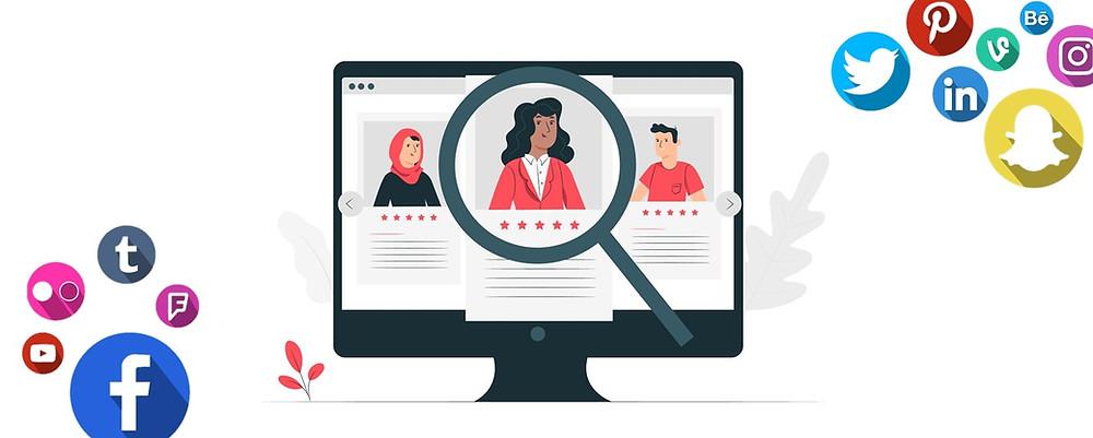 background checks social media