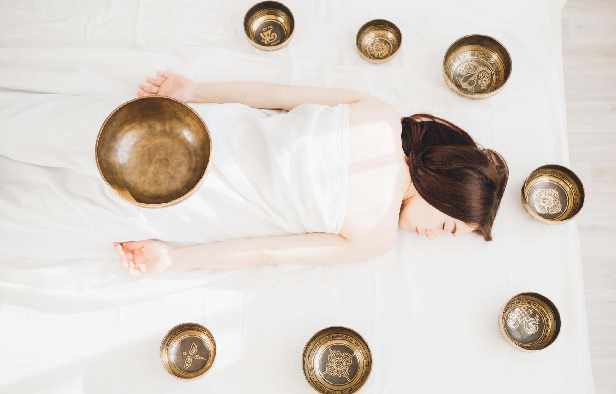 Sound back massage