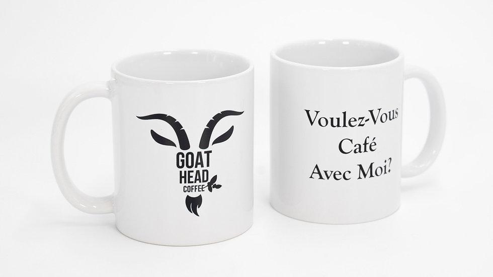 Goat Head Coffee Mug