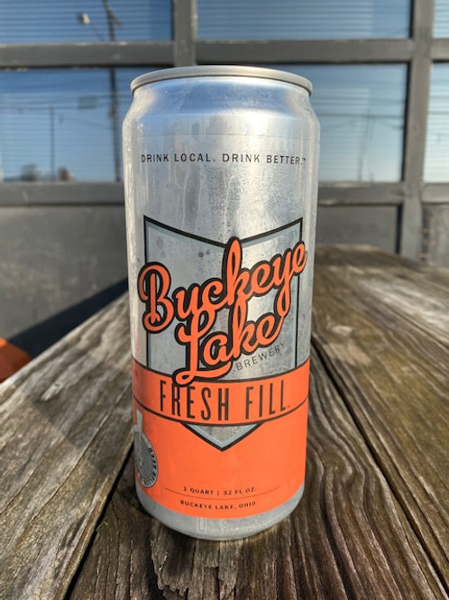 32 oz. Fresh Fill Can (Crowler,$8-$10)