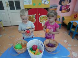 Игра Овощи и фрукты