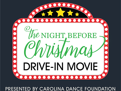 The Night Before Christmas Drive-in Movie Ticket