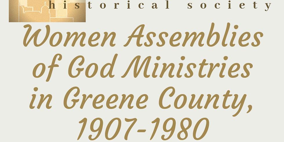 2019 Greene County Historical Society Spring Luncheon