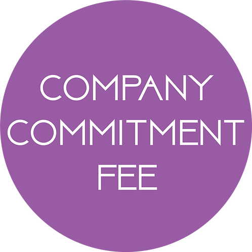 Commitment Fee (one-time)