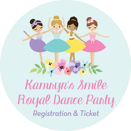 Kamryn's Smile Royal Dance Party