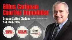 Besoin d'informations? Contactez-moi - Gilles Carignan, Courtier immobilier à Châteauguay - 514-824-