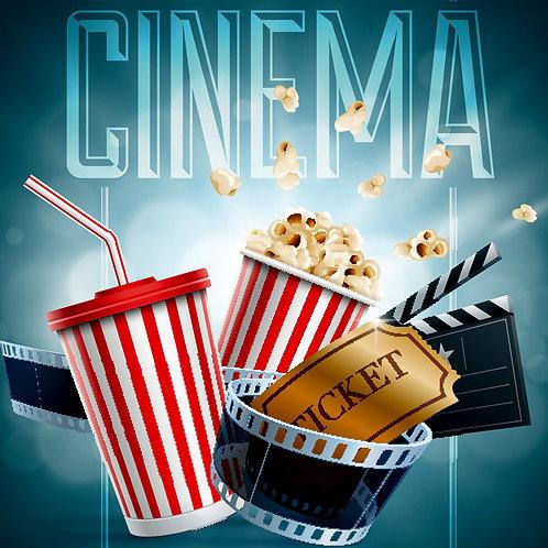 Bande-annonce de 20 secondes avant tous les films -200$/sem