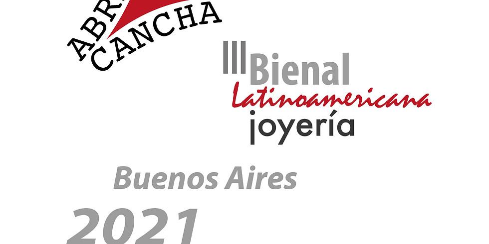 POR TRÁS DAS JOIAS |  III Bienal Latinoamericana de Joalheria Contemporânea - Abran Cancha