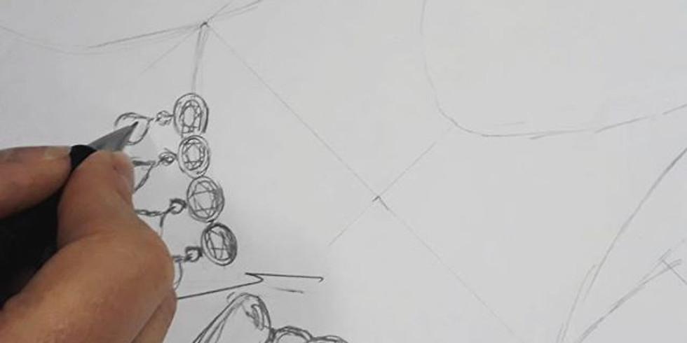 CURSO ONLINE | Desenho na Joalheria