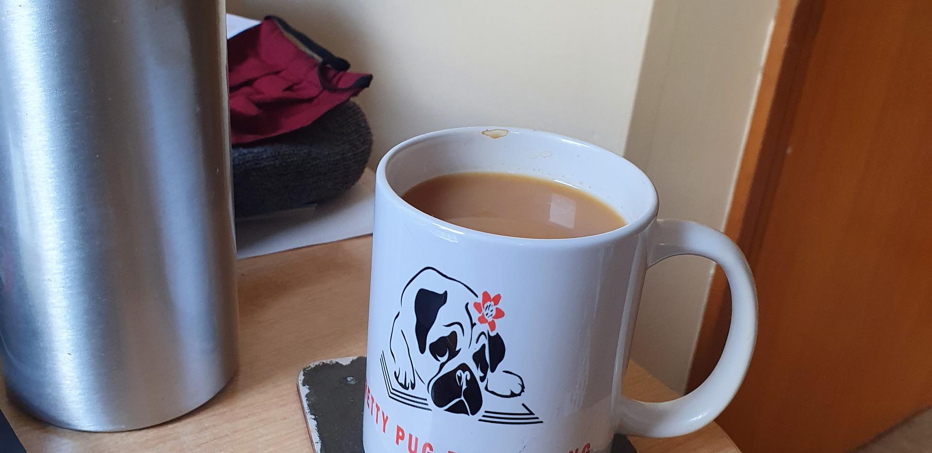 Pretty Pug Cuppa