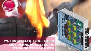 PV- installatie beveiligen met geïntegreerde vlamboogdetectie