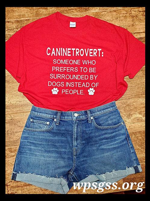 Caninetrovert Tee Shirt