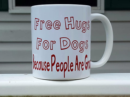 Free Hugs For Dogs Mugs