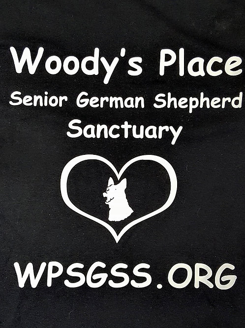 Woody's Place Senior German Shepherd Sanctuary Tee Shirt
