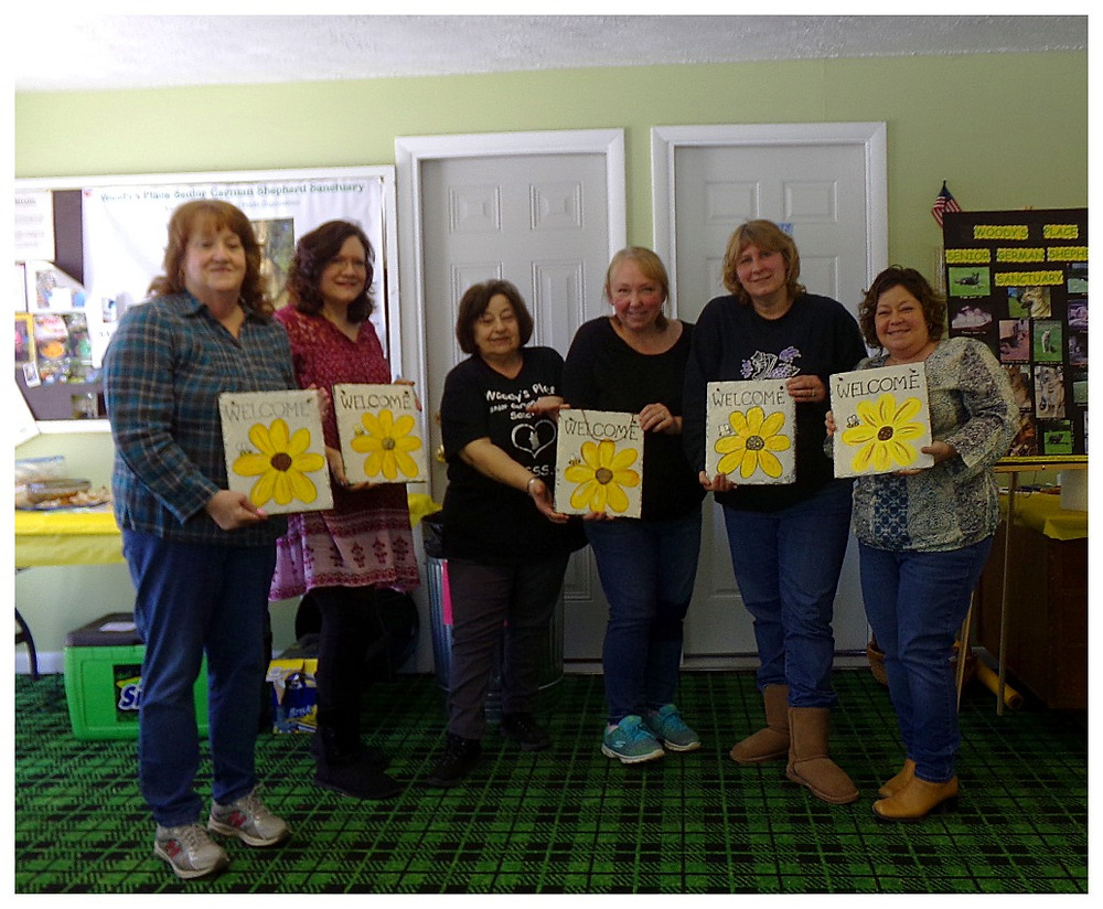 WPSGSS, INC paint and sip event