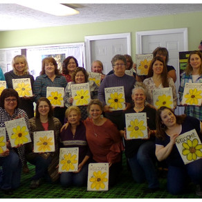 Woody's Place Paint N Sip Event
