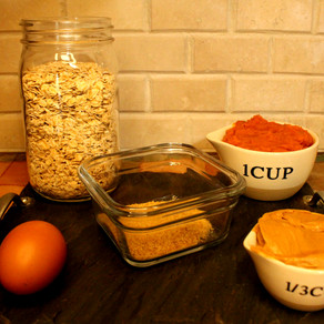 Flavorful Healthy Soft Peanut Butter Pumpkin Dog Treats With Only Five Simple Ingredients