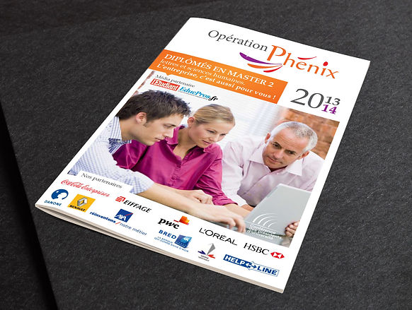 Guide de la formation Continue 2013 - 2014 BACK  Conception et mise en page du guide pour l'Université de la Sorbonne à Paris  Programmation et tarification à destination des stagiaires (32 pages) BACK Plaquette Opération Phénix 2013 - 2014