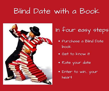 Blind Date with a Book in the Camarillo Library Bookstore