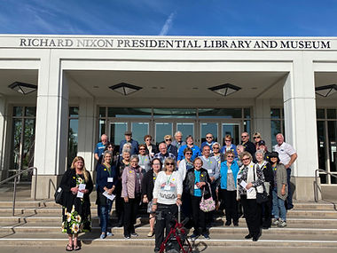 Nixon Library Tour