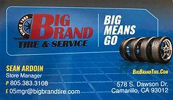 Big Brand Tire & Service of Camarillo - Sean Ardoin