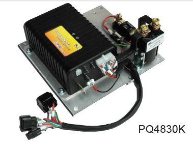 모터컨트롤러모듈,컨트롤러+컨텍터+퓨즈등,48V,300A