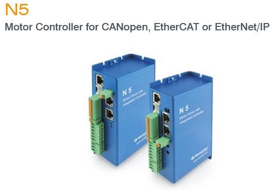 모터컨트롤러,CANopen,EtherCAT,EtherNet,IP