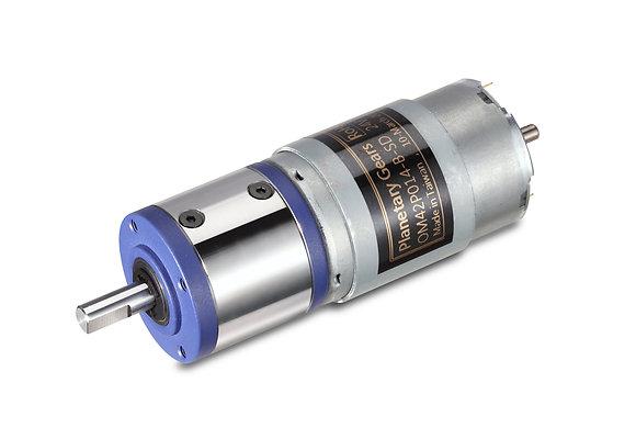 유성기어모터 42파이 21~1600RPM,12/24V,~98kgf.cm