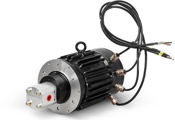 방폭AC모터2.7kW,펌프취부타입,EWHOF