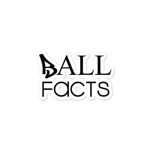Ball Facts stickers