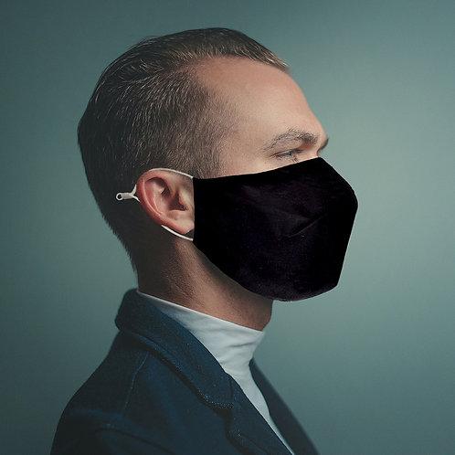 Solid Color Black Mask